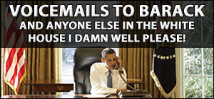 Voicemails to Barack